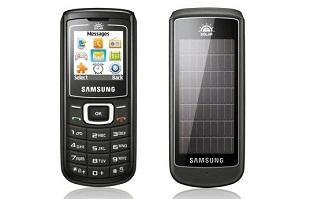 Ngắm điện thoại sạc bằng năng lượng mặt trời của Samsung