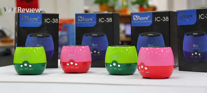 Tặng bạn đọc 4 loa Bluetooth iCore IC-38