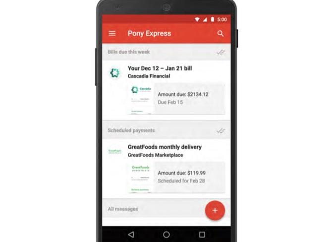Google đang xây dựng dịch vụ trả hóa đơn thông qua Gmail