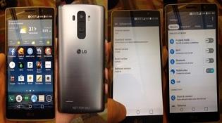Hình ảnh thực tế của LG G4