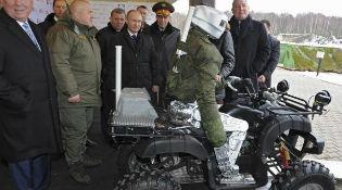 Nga sẽ khoe chiến binh robot tại triển lãm vũ khí Arms Expo