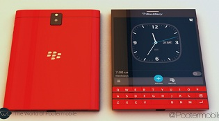 BlackBerry Passport có thêm bản màu đỏ vào tháng 12 tới