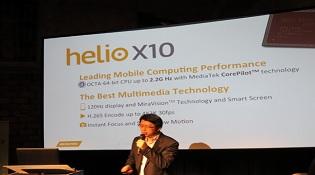 MediaTek chính thức giới thiệu dòng chip cao cấp Helio