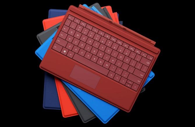 Microsoft trình làng phụ kiện Type cover cho Surface 3 với nhiều lựa chọn màu sắc