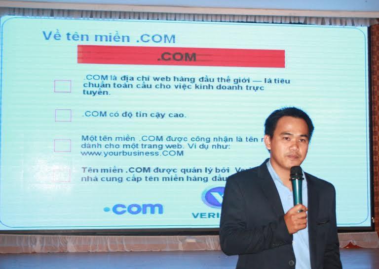Tên miền .COM phù hợp nhất với các doanh nghiệp trực tuyến