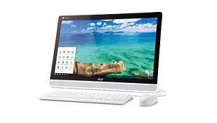 Acer ra máy tính AIO dùng màn hình cảm ứng