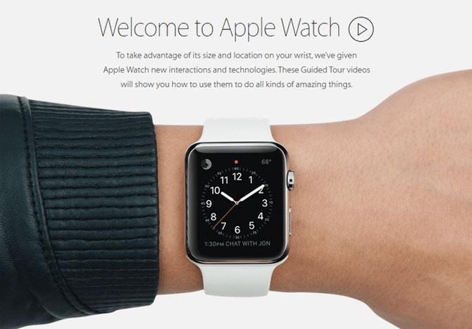 Apple tung video hướng dẫn sử dụng Apple Watch