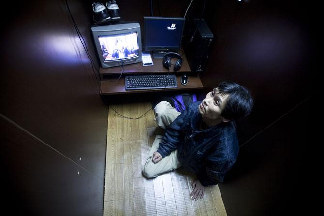 Cafe internet, mặt tối của Nhật Bản