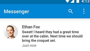 Dùng thử ứng dụng nhắn tin của Android Lollipop