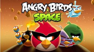 Angry Birds Space đạt 20 triệu lượt tải trong tuần đầu tiên