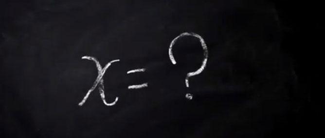 """Vì sao chúng ta dùng """"X"""" làm ẩn số trong Toán học?"""