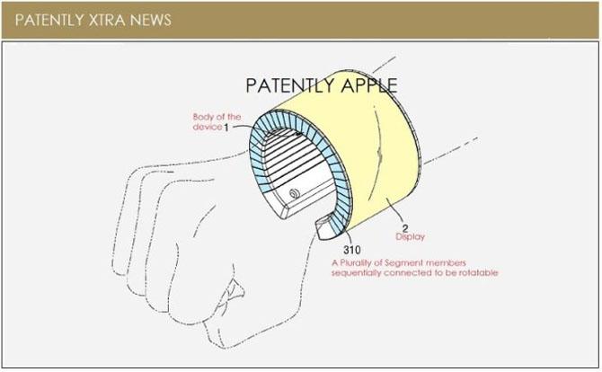 Samsung đệ trình bằng sáng chế vòng đeo tay kiêm smartphone