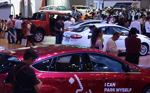 Sức mua ôtô tháng 3 nhấn ga tăng tốc