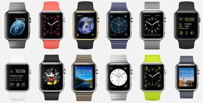 """Đến ngày 24/4 sắp tới, Apple Watch sẽ lên kệ. Song, nếu bạn chưa kịp đặt hàng trước, bạn sẽ phải đợi thêm ít nhất là 1 tháng: chiếc smartwatch đầu tiên của Apple đã chính thức """"cháy hàng""""."""