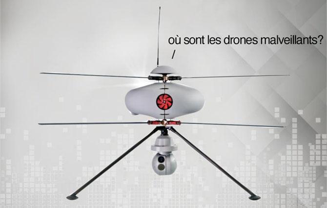 Pháp phát triển drone chống drone