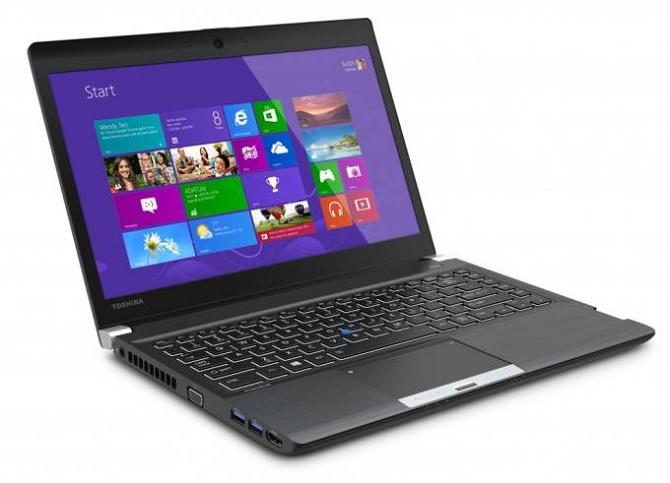 Toshiba giới thiệu dòng laptop Portégé R30 dành cho doanh nhân