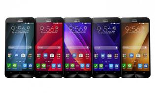 Lộ giá 5 phiên bản Zenfone 2 chính hãng sắp bán tại Việt Nam