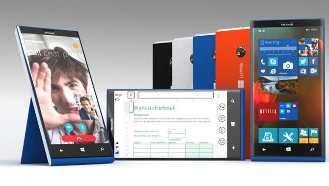 Microsoft đang phát triển 2 mẫu Lumia cao cấp và 2 mẫu Lumia tầm trung