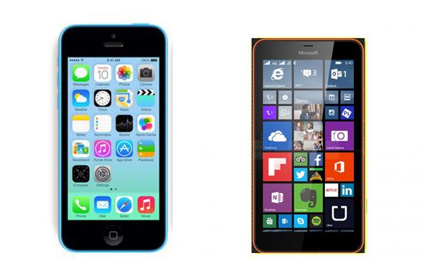 Mua Lumia 640XL hay iPhone 5C cũ?