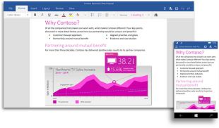 Windows 10 TP for Phone sẽ có Office vào cuối tháng này