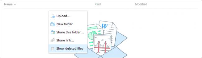 """Bên cạnh khả năng cho phép truy cập file từ tất cả các thiết bị thông minh, các ứng dụng lưu trữ đám mây còn có thể """"cứu"""" bạn trong một kịch bản rất tồi tệ: xóa nhầm file."""