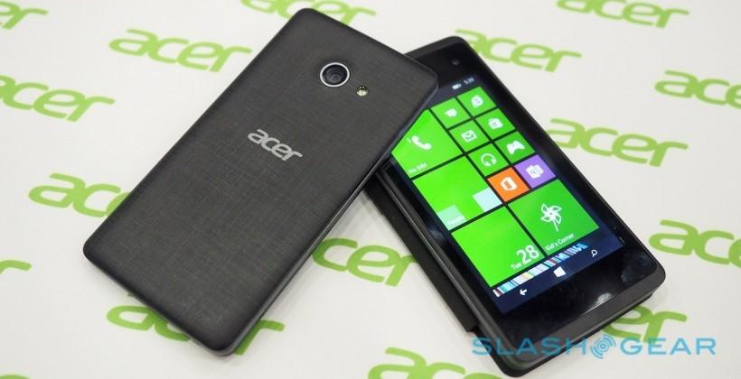 Acer Liquid M220 chạy Windows Phone 8.1, giá 80 USD