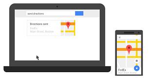 Google hỗ trợ gửi điều hướng từ máy tính sang điện thoại