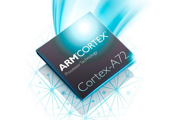 Lõi xử lý Cortex-A72 có sức mạnh ngang với lõi xử lý Core-M của Intel