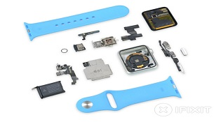 iFixit mổ Apple Watch: Có thể thay pin và gần như không thể sửa chữa