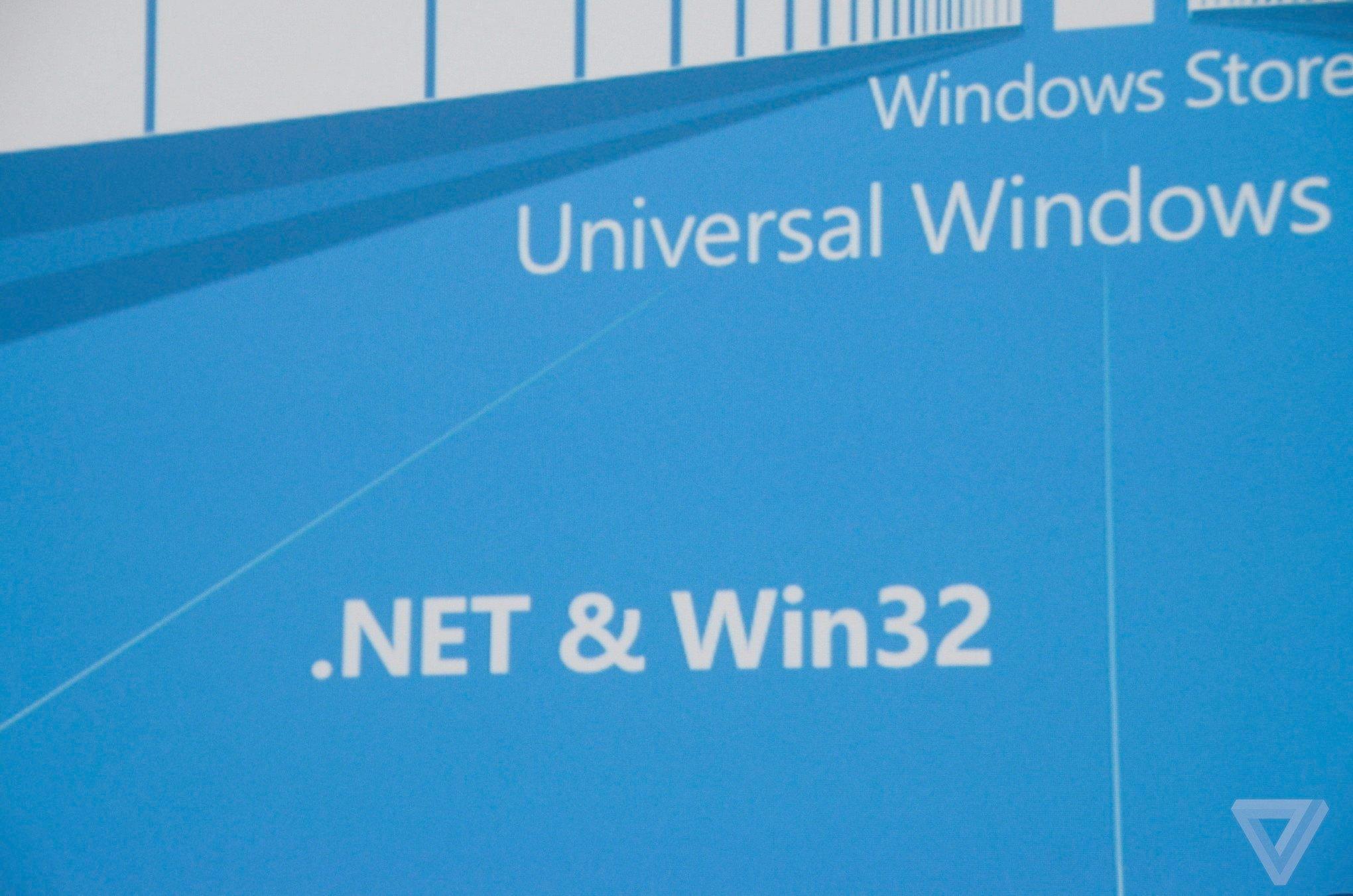 .NET & Windows 32 app