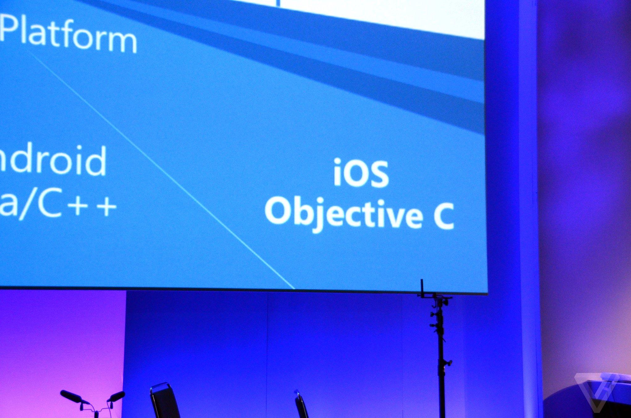 Windows 10 runs iOS app