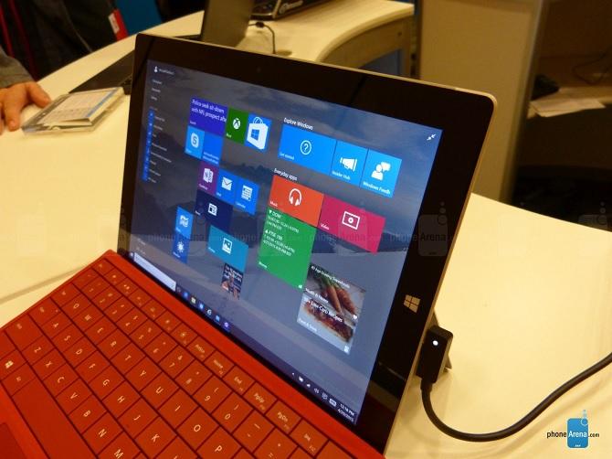 Đánh giá nhanh Microsoft Surface 3