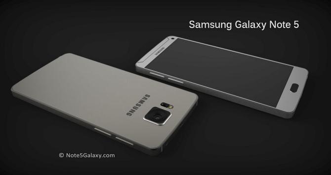 Chiêm ngưỡng concept Galaxy Note 5 với màn hình Super AMOLED 5.9 inch (4K)