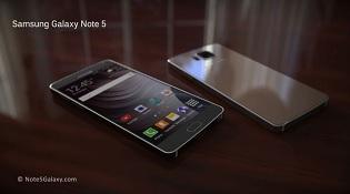 Concept Galaxy Note 5 đẹp lung linh với màn hình 5.9 inch
