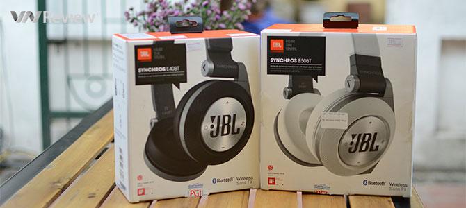 Đánh giá cặp tai nghe không dây JBL Synchros E40BT và E50BT