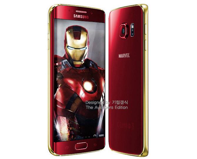 Phiên bản Galaxy S6/S6 Edge Iron Man sẽ ra mắt vào cuối tháng Năm