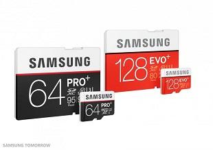 Samsung giới thiệu hai mẫu thẻ nhớ siêu tốc EVO Plus và PRO Plus