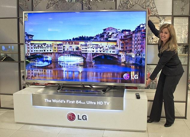 """LG trở lại với """"ngai vàng"""" Ultra HD"""