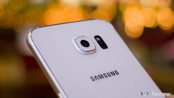 Một số Galaxy S6 và S6 Edge dùng cảm biến camera của Samsung thay thế Sony