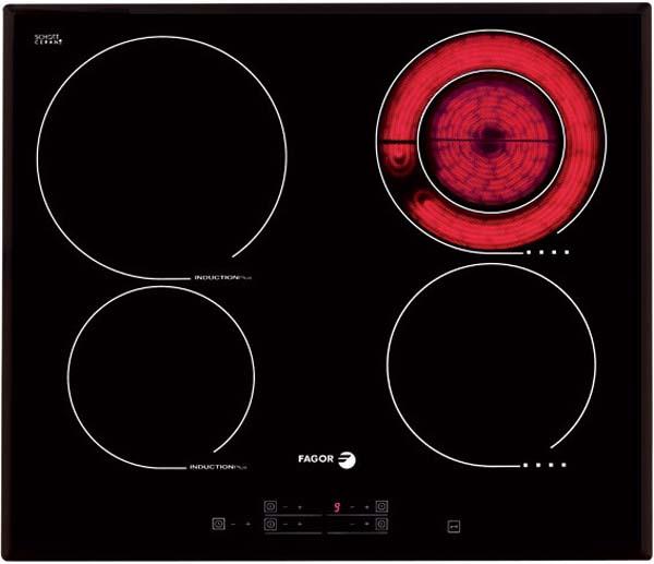bếp từ kết hợp điện Fagor