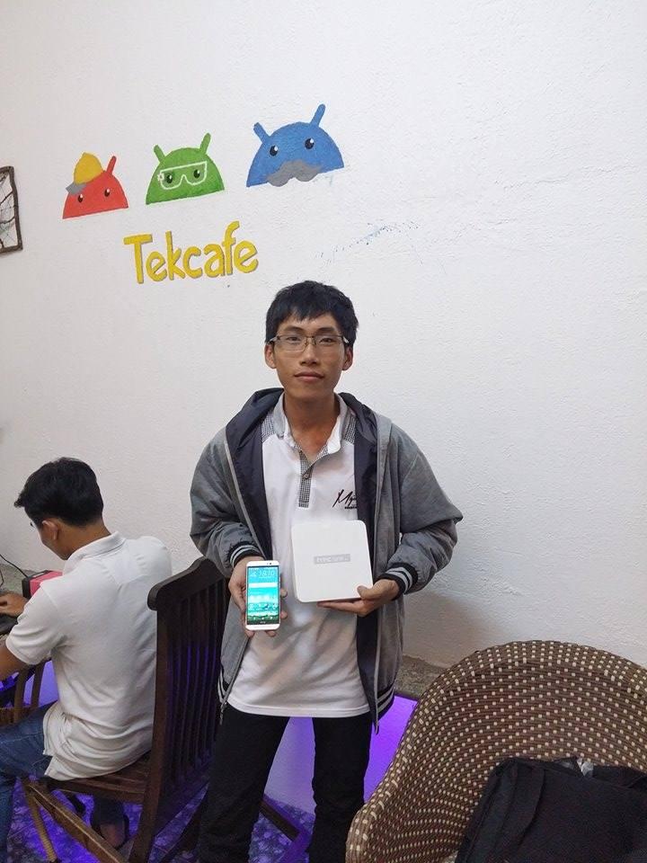 Điện thoại HTC One M9 đã đến tay bạn đọc may mắn