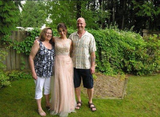 Emily Janzen and family