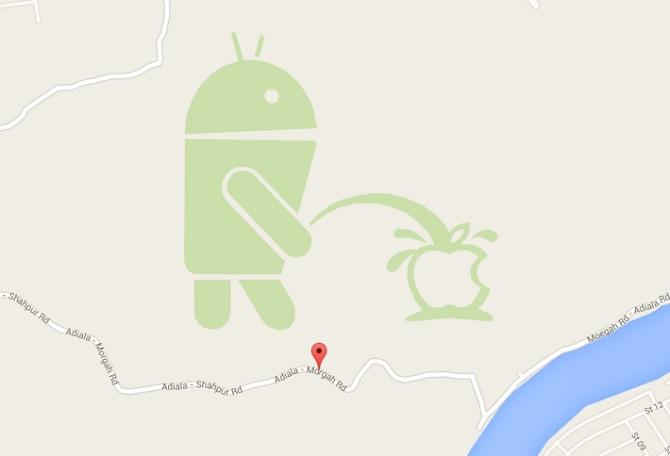 """Google khóa tính năng Map Maker sau vụ logo Android """"tè bậy"""""""