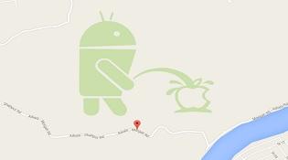 """Google khóa tính năng Map Maker sau sự cố """"Android tè bậy Apple"""""""