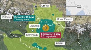 Vì sao Nepal tiếp tục bị động đất?