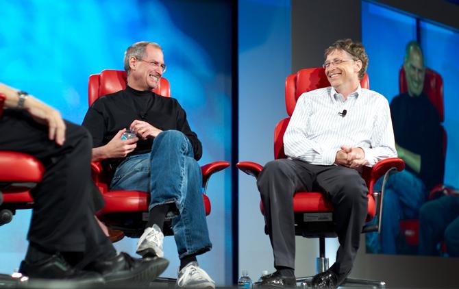 Điều mà Bill Gates hiểu ngay lập tức, còn Steve Jobs phải mất tới 20 năm sau mới hiểu