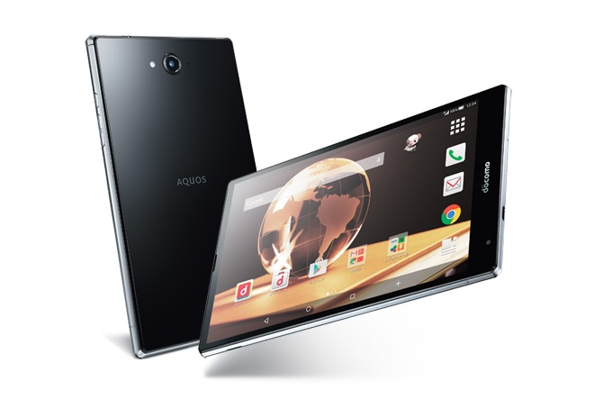 Sharp ra mắt tablet Aquos Pad SH-05G sử dụng chipset Qualcomm Snapdragon 810