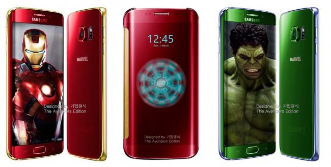 Galaxy S6 Edge phiên bản Iron Man lộ ảnh sắp ra mắt