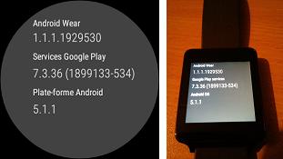 Google phát hành Android Wear 5.1.1