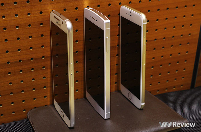 So với iPhone 6 và Galaxy S6, BPhone không phải dạng vừa đâu